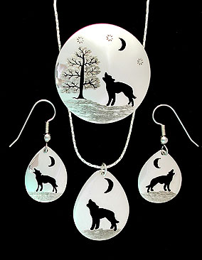 wolves wolf, tree of life, pin, brooches, earrings, necklace, pendant